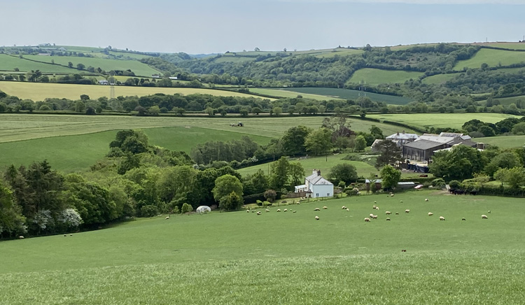 Smeaton Farm from a distance